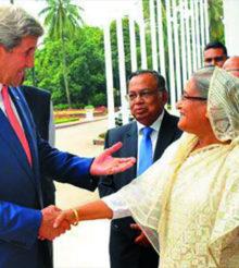 যুক্তরাষ্ট্র-বাংলাদেশ একসঙ্গে কাজ করার অঙ্গীকার