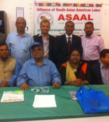 Alliance of South Asian American Labor Brooklyn Chapter Meeting