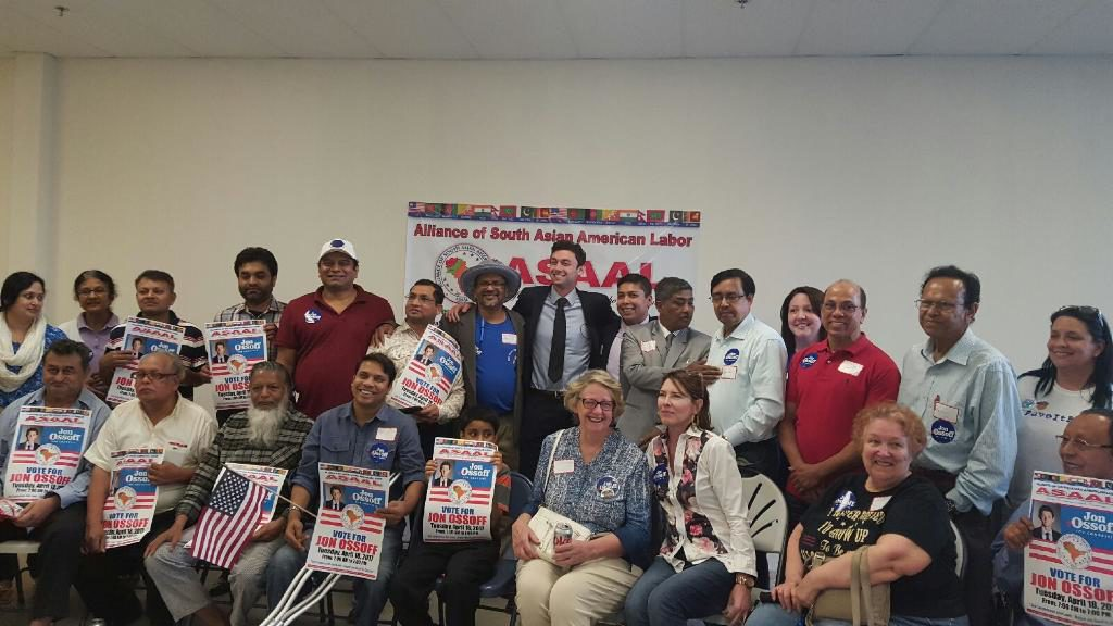 american voting youth South asian