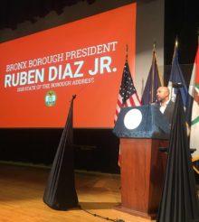 BRONX BOROUGH PRESIDENT DIAZ DELIVERS NINTH 'STATE OF THE BOROUGH' ADDRESS